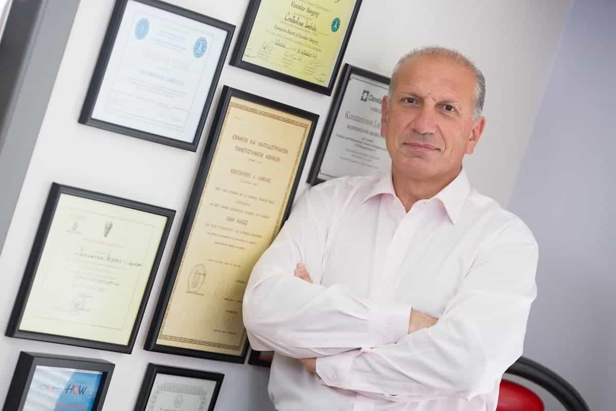Αγγειοχειρουργός - Αγγειολόγος Κωνσταντίνος Λαμπίδης Vein Therapy